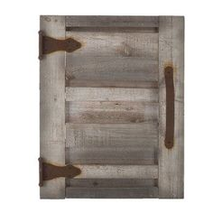 Shutter Wood Wall Decor #ad #rusticdecor #shutter #bbm #farmhousedecor
