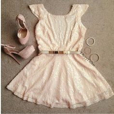 Light pink .. birthday fit idea or bachelorette party outfit