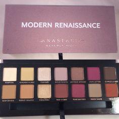 One Week One Palette - Anastasia Beverly Hills Modern Renaissance