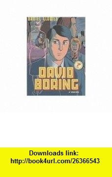 David Boring (Spanish Edition) (9788478337729) Daniel Clowes , ISBN-10: 8478337725  , ISBN-13: 978-8478337729 ,  , tutorials , pdf , ebook , torrent , downloads , rapidshare , filesonic , hotfile , megaupload , fileserve