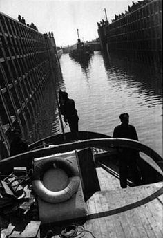 Alexander Rodchenko - Ships in the Lock.  http://www.artexperiencenyc.com/social_login