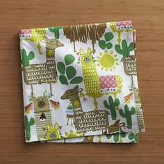 Lylove Studio for Crate& Barrel Llama Napkin