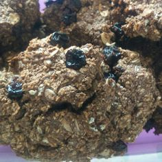 Cookies de whey protein e aveia em flocos
