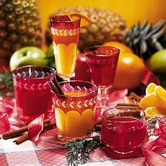 Pineapple Wassail - Top Holiday Cocktails Recipes - Southern Living