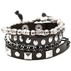 Bracelets | Jewelry | Accessories ($11) ❤ liked on Polyvore featuring jewelry, bracelets, accessories, studded jewelry, beaded jewelry, beading jewelry and bead jewellery