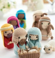 Crochet nativity: Part 1