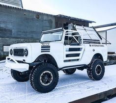 ||| The perfect #starwars #stormtrooper rig! Source: http://ift.tt/2in8WAK Photo cred: http://ift.tt/2ij37Si ||| international scout 80/800 |||