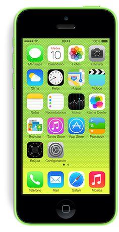 Descubre los colores que el nuevo iPhone 5c te ofrece.