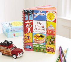 My Travel Journal | Pottery Barn Kids