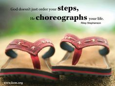 Choreographs.