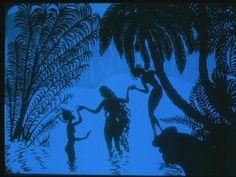 Die Abenteur des Prinzen Achmed (1926), German animated film, based on Wayang