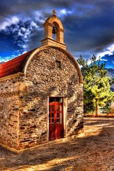Greek Orthodox church in Bali, Crete
