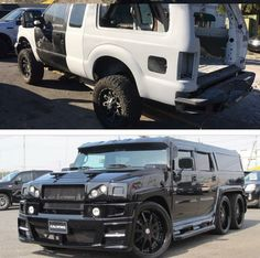 Excursion Conversion Custom Car Shop, Custom Cars, Normal Cars, Camouflage Colors, Lowered Trucks, Roll Cage, Old Cars, Hot Rods, Vehicles