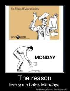 Gotta love work humor...  Check my Facebook Page: http://www.facebook.com/pages/Allergic-to-Mondays-Having-Fun-at-work/