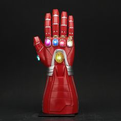 High-quality The Vibe Cosplay Costume Outfit Gloves prop glass Halloween Gloves