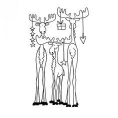 """Stempel """"Nordlichter"""" 7,5x4,2 cm - Stempel - Advent/Weihnachten - die anlässe. - idee. Onlineshop"""