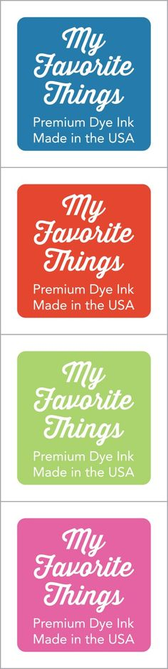 My Favorite Things Hybrid Ink Cube Set www.papercrafts.ch