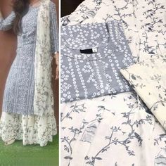 💯 shipping ❤️ attire is beautified with paired up with. 💯 shipping ❤️ attire is beautified with paired up with cotton and Sizes: . Simple Kurta Designs, Kurta Designs Women, Kurtha Designs, Dress Designs, Henna Designs, Kurti Embroidery Design, Tambour Embroidery, Embroidery Suits, Indian Wedding Gowns