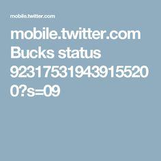 mobile.twitter.com Bucks status 923175319439155200?s=09