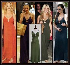 Michelle Jonas Closed Back Keyhole Maxi Dress In Sea Green. Seen on Kim Kardashian, Jessica Simpson, Christina Aguilera & Paris Hilton. NewChicBoutique.com