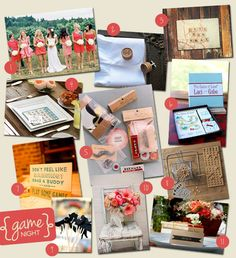 Wedding Theme: Game Night | Wedding Tips & Trends - Bridal Blog