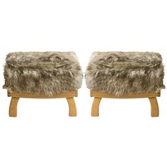 Pair of Custom Chalet Benches
