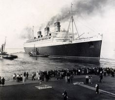 The RMS Queen Mary (1957)  Amazing ship to have been on while they were refurbishing it - haunting and haunted.