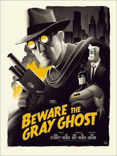 Batman - The animated series poster