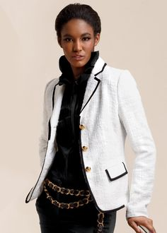Petite Veranda Boucle Marchand Jacket