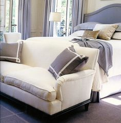 bedroom sofa gorgeous cushions - Bedroom Sofa Ideas