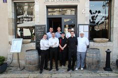 Meet Le Bistrot de la Cathédrale team : all these guys are waiting for you having lunch or dinner on the amazing terrace in front of the cathedral.