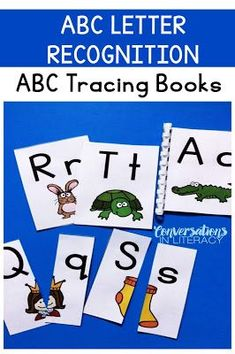 Tracing Books for Letter Recognition and Letter Identification Activities are incredibly helpful to those elementary readers who struggle to learn the alphabet.