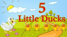 Five Little Ducks - Spring Songs for Children - Nursery Rhymes - By The ...