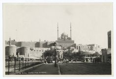 Egyptian culture radically changed when WWI began and the British took control. These pictures show the Egypt that once was. Cairo Citadel, Paris Skyline, New York Skyline, Old Egypt, Blitz, New York Public Library, Old Pictures, Historical Photos, Picture Show