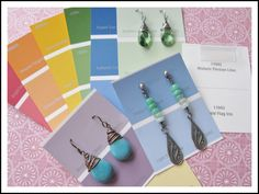 A bunch of great and easy ideas of how to make your own earring cards « Rings and Things
