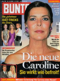 Bunte magazine cover