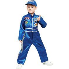 Pit Crew Toddler Halloween Costume