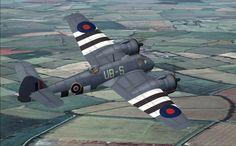WWII British Bristol Beaufighter warplane