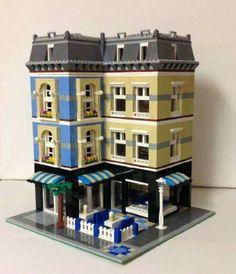 Lego City, Lego Modular, Pc Minecraft, Casa Lego, Construction Lego, Lego Building Blocks, Lego Trains, Lego Builder, Lego Worlds