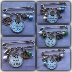 Items similar to Grandma to Be Pin / FREE Key Ring / Mama to Be / New Baby / Baby Girl / New Grandma Gift / Birth Announcement / Baby Shower Corsage / Nana on Etsy Distintivos Baby Shower, Regalo Baby Shower, Baby Shower Crafts, Shower Bebe, Baby Shower Parties, Baby Favors, Baby Shower Favors, Baby Shower Themes, Baby Shower Decorations