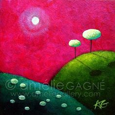 Just the Two of Us - Signed Limited Edition Print by Amelie Gagne *SMALL*