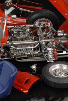 1/12 Modellauto Ferrari Dino 156 Sharknose CMC