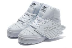 Jeremy Scott Wings 2.0 Shoes White Sliver