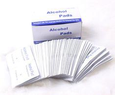 ポータブル 100 ピース/箱新しい アルコール prep パッド外用防腐ワイプ 70% イソプロピル滅菌応急処置