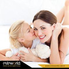Bir öpücüğünüzle yüzünde güller açtırdığınız #Annenizİçin gülüş estetiği Esteworld'de! http://bit.ly/DisEstetigi  Bol kahkahalı bir hafta sonu dileriz. :)