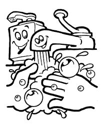 this is free coloring pages of handwashing and germs you with healthy kids coloring pages ebcs - Free Germ Coloring Pages