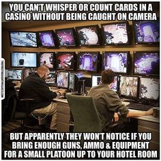 And you can't order toilet paper from Amazon without scrutiny of your habits and followup ads, but he ordered enough guns and ammo to win a war