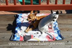 Posh Pooch Designs Dog Clothes: How to Make An Outdoor Dog Mat