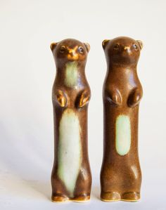 Danish Stoneware Animal Figurines