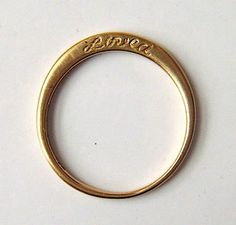 So we have had a good look at all manner of unusual engagement rings from the inner message ring and cat-shaped engagement ring all the way to SpaceWed Bands, S